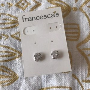 Francesca's Silver Stud Earrings